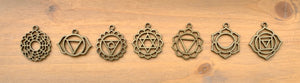 Chakra Charms - Antique Bronze