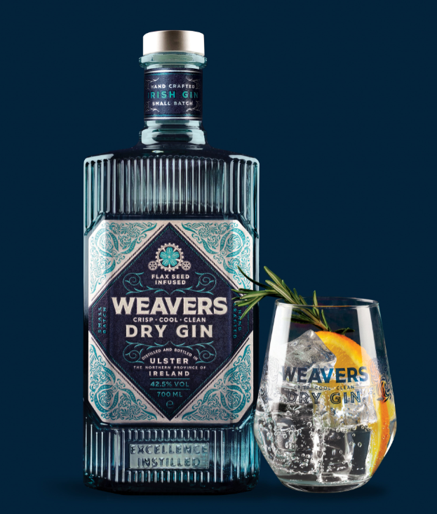 Weavers Gin 70cl 42.5% ABV