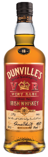 Dunville's VR 18 Year Old Port Mourant Rum Finish Single Malt Irish Whiskey Cask 190 70cl