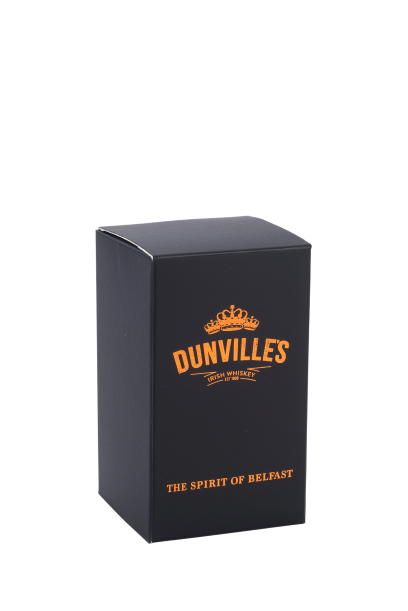 Dunville's whiskey glass