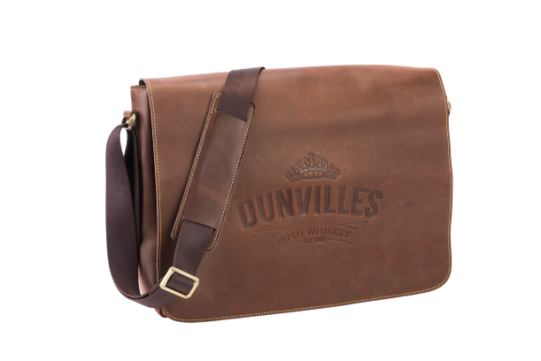 Dunville's leather lap top bag