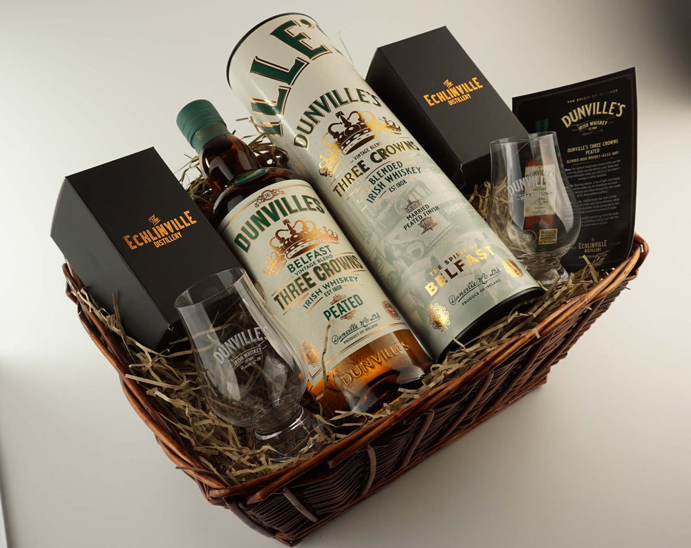 Dunville's Three Crowns Peated Gift Hamper