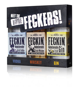 Feckin whiskey miniature 5cl 40% ABV