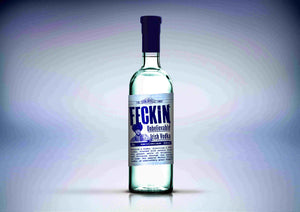 Feckin Irish Vodka 70cl 37.5% ABV