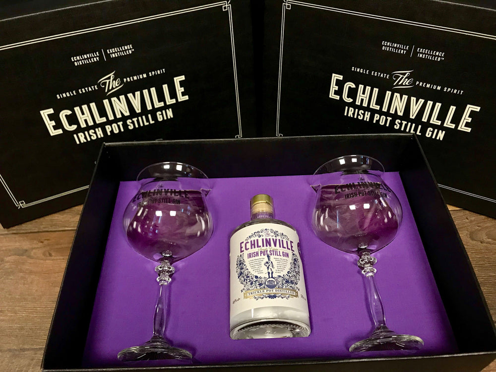 Echlinville Irish Pot Still Gin Hamper 50cl 46% ABV