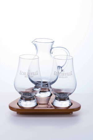 The Echlinville Distillery Whiskey Flight Tray