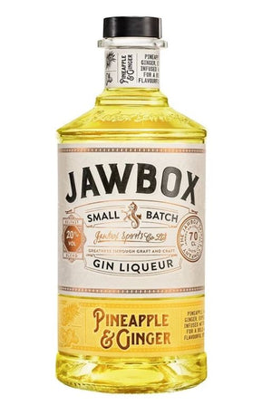 Jawbox Pineapple and Ginger Gin Liqueur 70cl 20% ABV