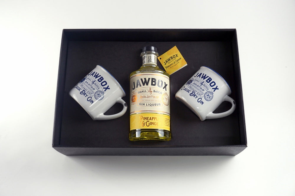 Jawbox Pineapple & Ginger Gift box