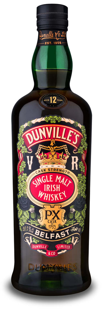 DUNVILLE'S PX 12 YEAR OLD CASK STRENGTH SINGLE CASK 1703