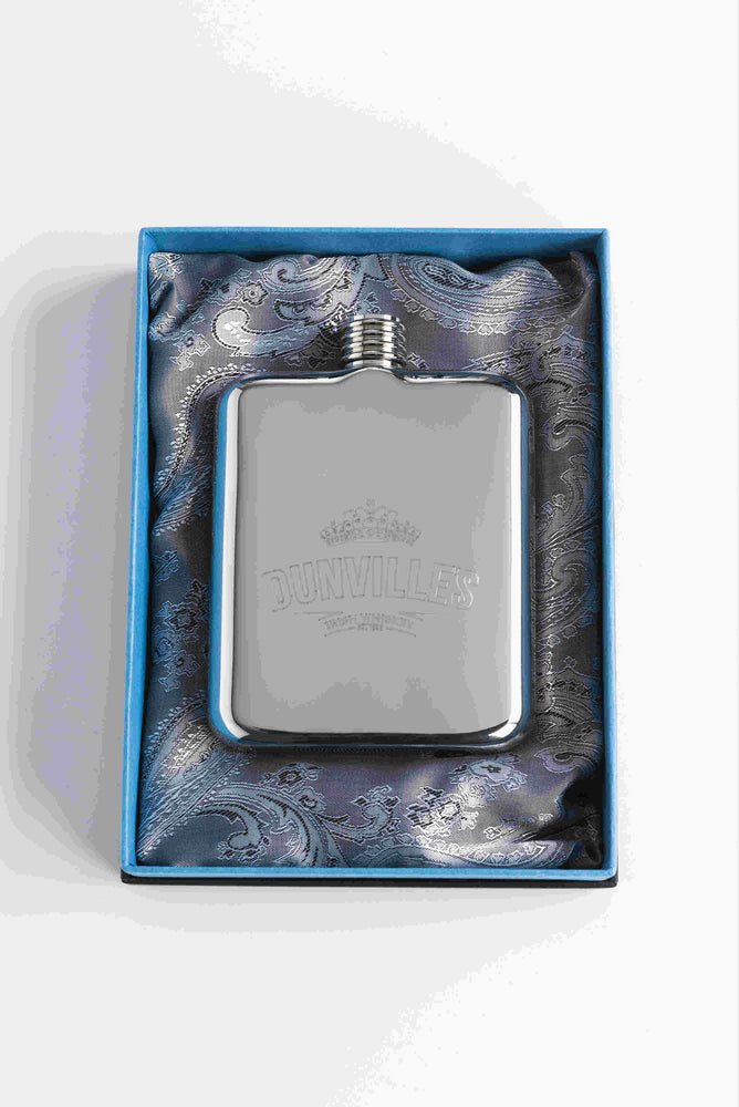 Dunville's Swig Hip Flask
