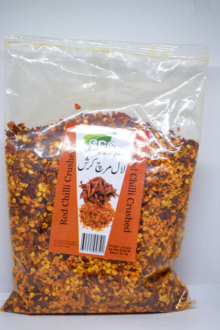 ECO Red Chilli Crushed 200gm
