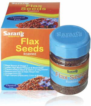 RMS Flex Seeds Roasted 100gm Rs.180