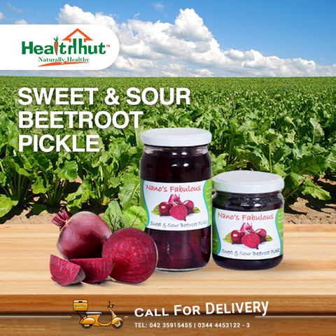 NF Sweet & Sour Beetroot Pickle 200ml Rs.200