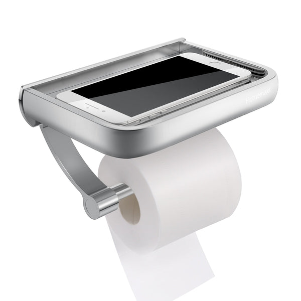 Porte Papier Toilette avec Support Tablette
