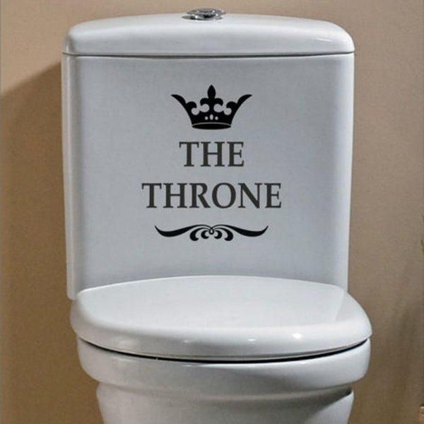 Sticker The Throne-La Boutique des WC
