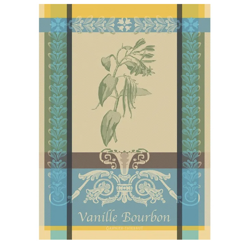 Garnier-Thiebaut | Kitchen Towel | Vanille Bourbon Eden