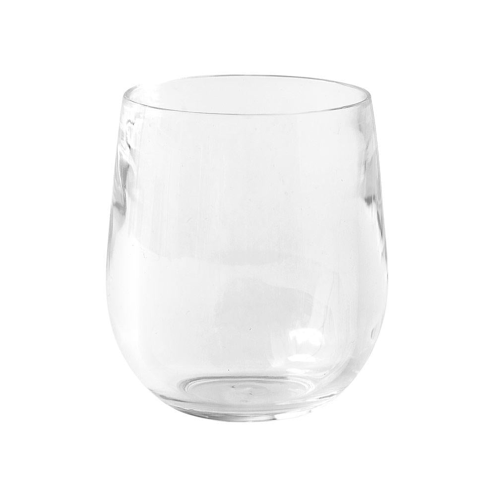 Caspari | Acrylic Tumblers Set of 2 | Clear