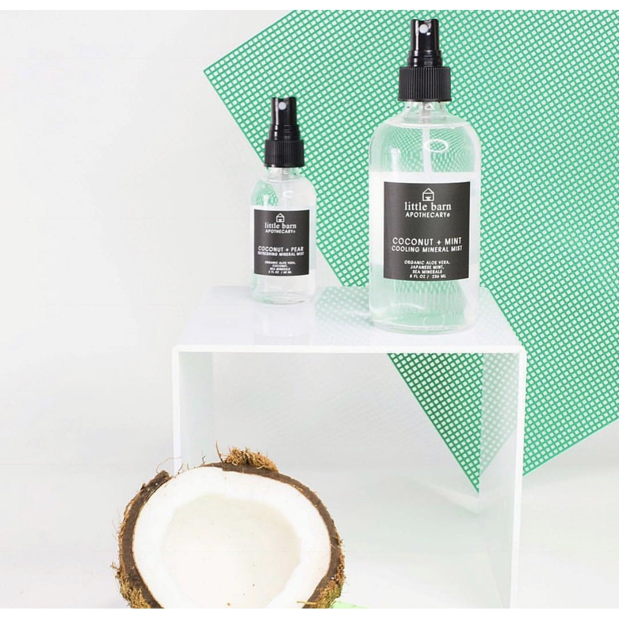 Little Barn Apothecary | Coconut + Mint Mist - FrankShopWP