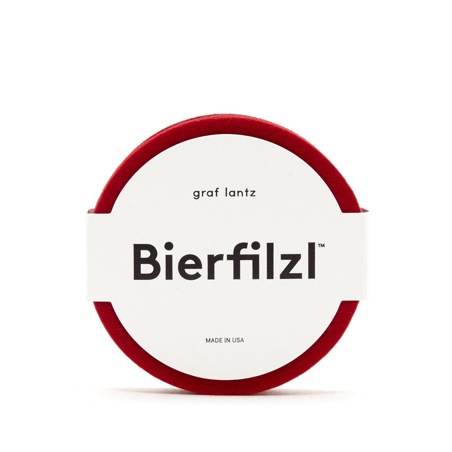 Graf Lantz | Felt Coasters | Red