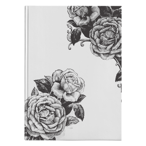 B+W Beauty - Hardcover-teelaunch-FlorabyFauna