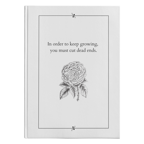 In Order To Keep Growing - Hardcover-teelaunch-FlorabyFauna