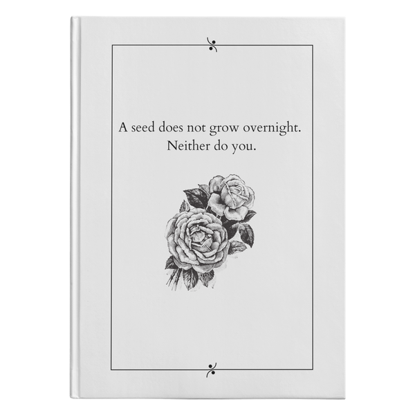 A Seed Does Not Grow - Hardcover-teelaunch-FlorabyFauna