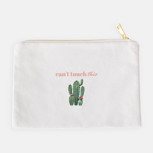 """Can't touch this"" Cosmetic Bag-FlorabyFauna-FlorabyFauna"