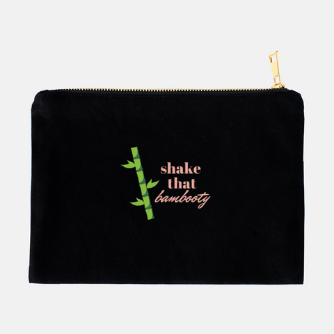 """Shake that bambooty"" Cosmetic Bag"