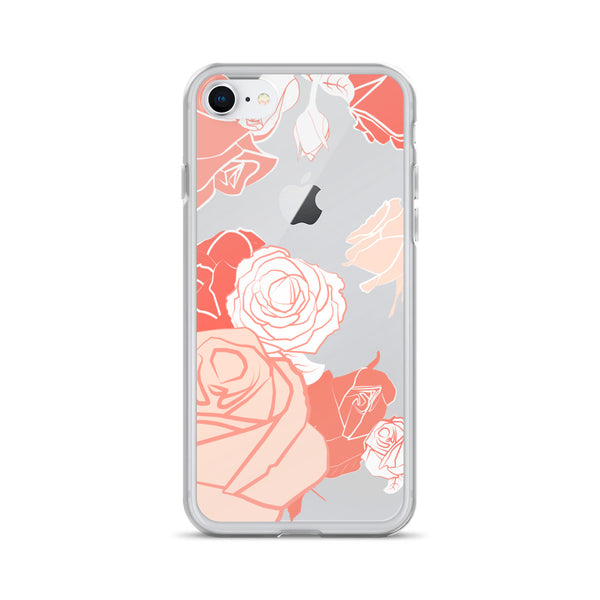 iPhone Case - Creamsicle Rose