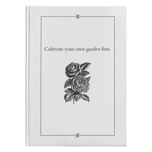 Cultivate Your Own Garden - Hardcover-teelaunch-FlorabyFauna