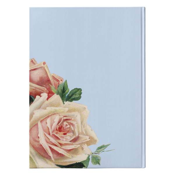 Wallflower - Baby Blue - Hardcover-teelaunch-FlorabyFauna
