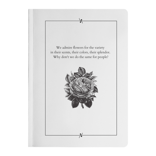 We Admire Flowers - Paperback-teelaunch-FlorabyFauna