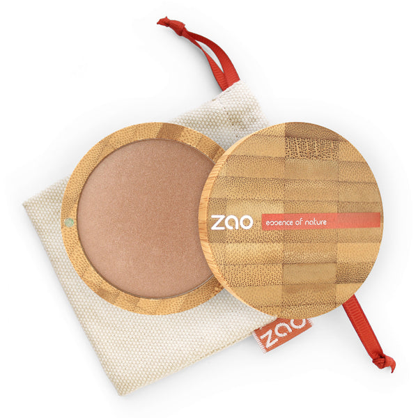 Cooked Powder von Zao in Golden Copper im Bambus Case