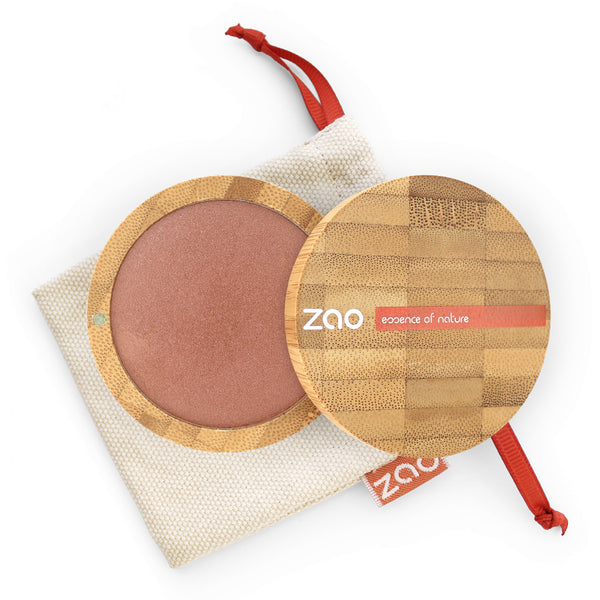 Cooked Powder von Zao in Red Copper im Bambus Case