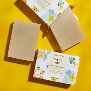 Baby & Kids Shampoo & Body Bar