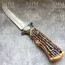 Load image into Gallery viewer, 30CM Tactical Dagger Knife Outdoor Survival Army Fixed blade Bowie Knives XHM045