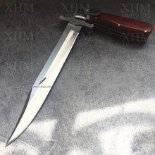 Load image into Gallery viewer, XHM Tactical Folding Dagger Knife Bayonet Combat Fighting Knives Outdoor EDC