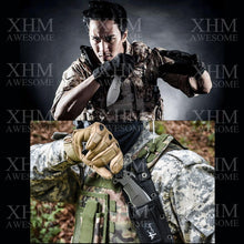 Load image into Gallery viewer, Army Tactical Knife Outdoor Survival Hunting Rescue Ti Fixed Blade Knives Flint