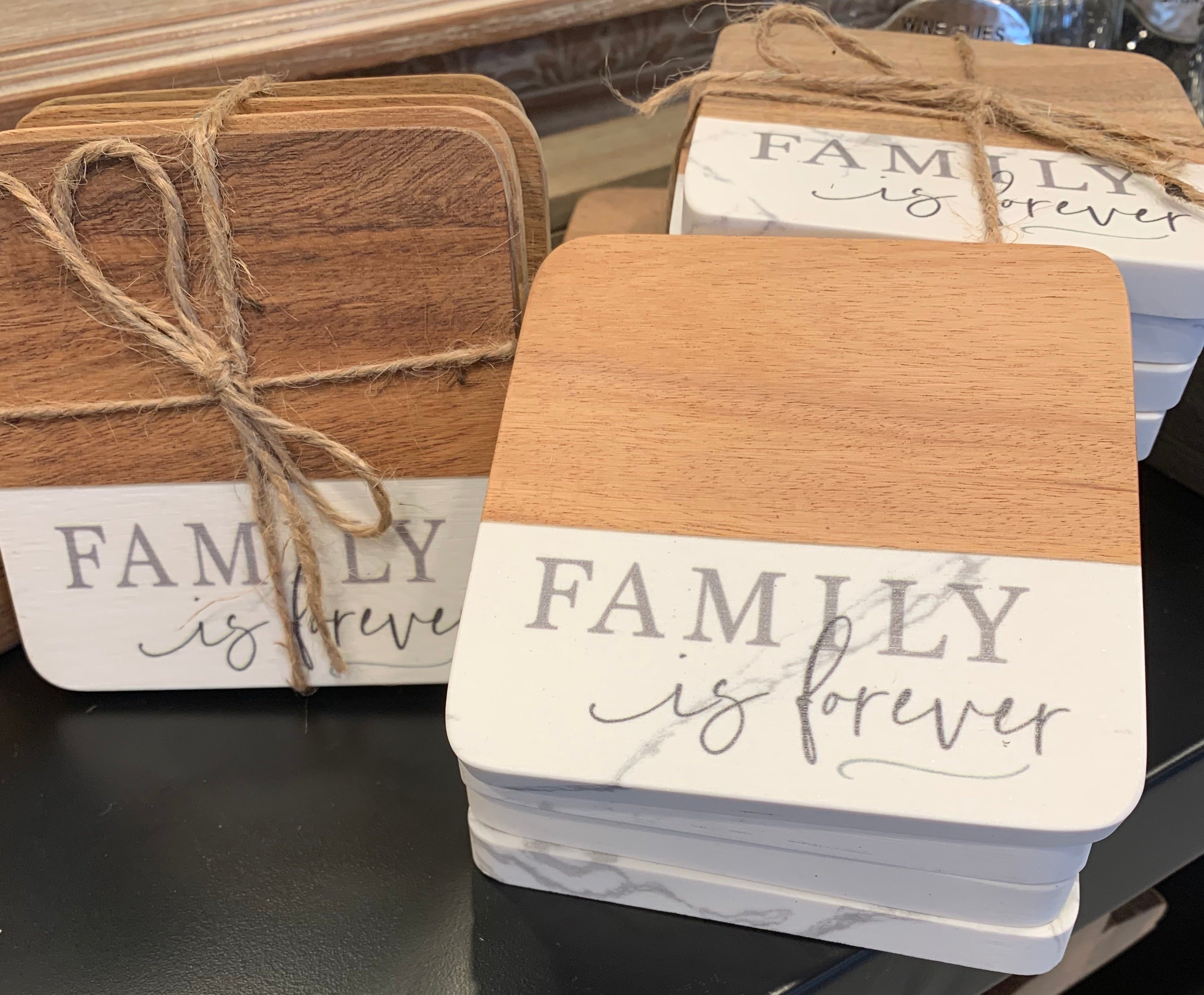 Family Forever Coasters