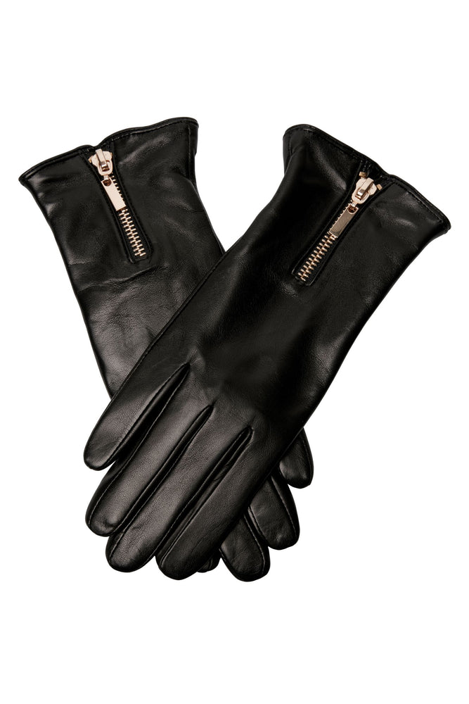 GLOVE GOLD ZIPPER