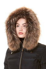 FUR COLLAR NATURE