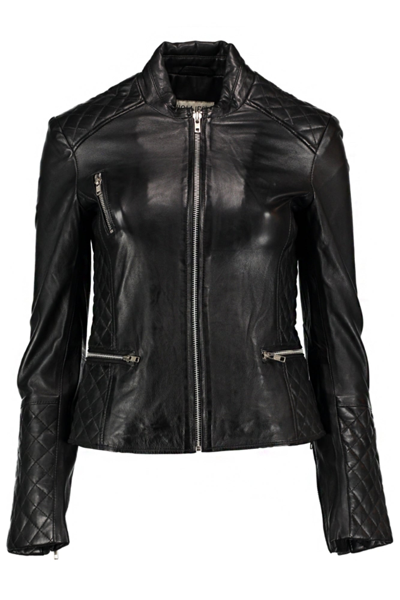 SOPHIE LEATHER JACKET BLACK