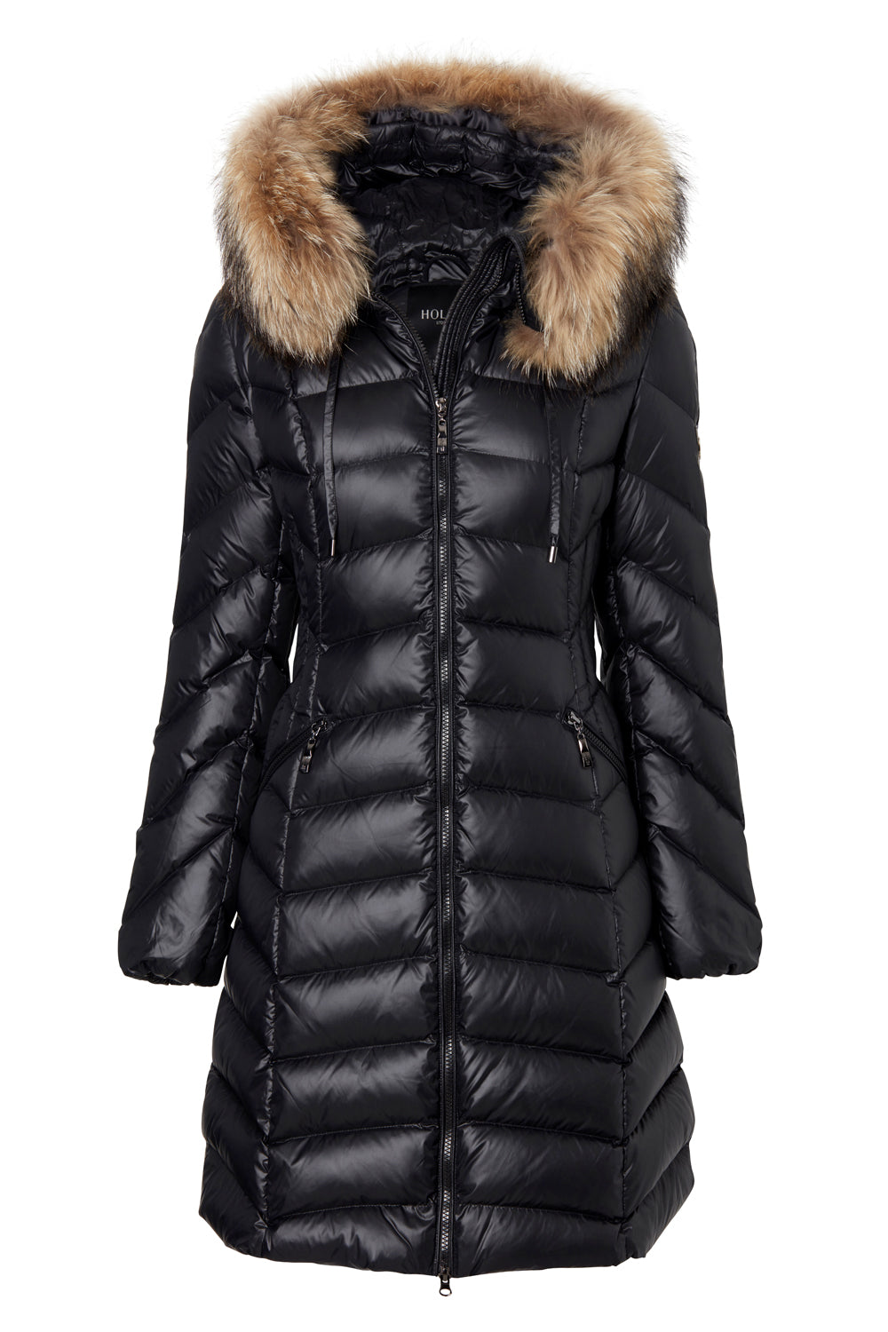 WILD CAT BLACK/NATURE FAUX FUR