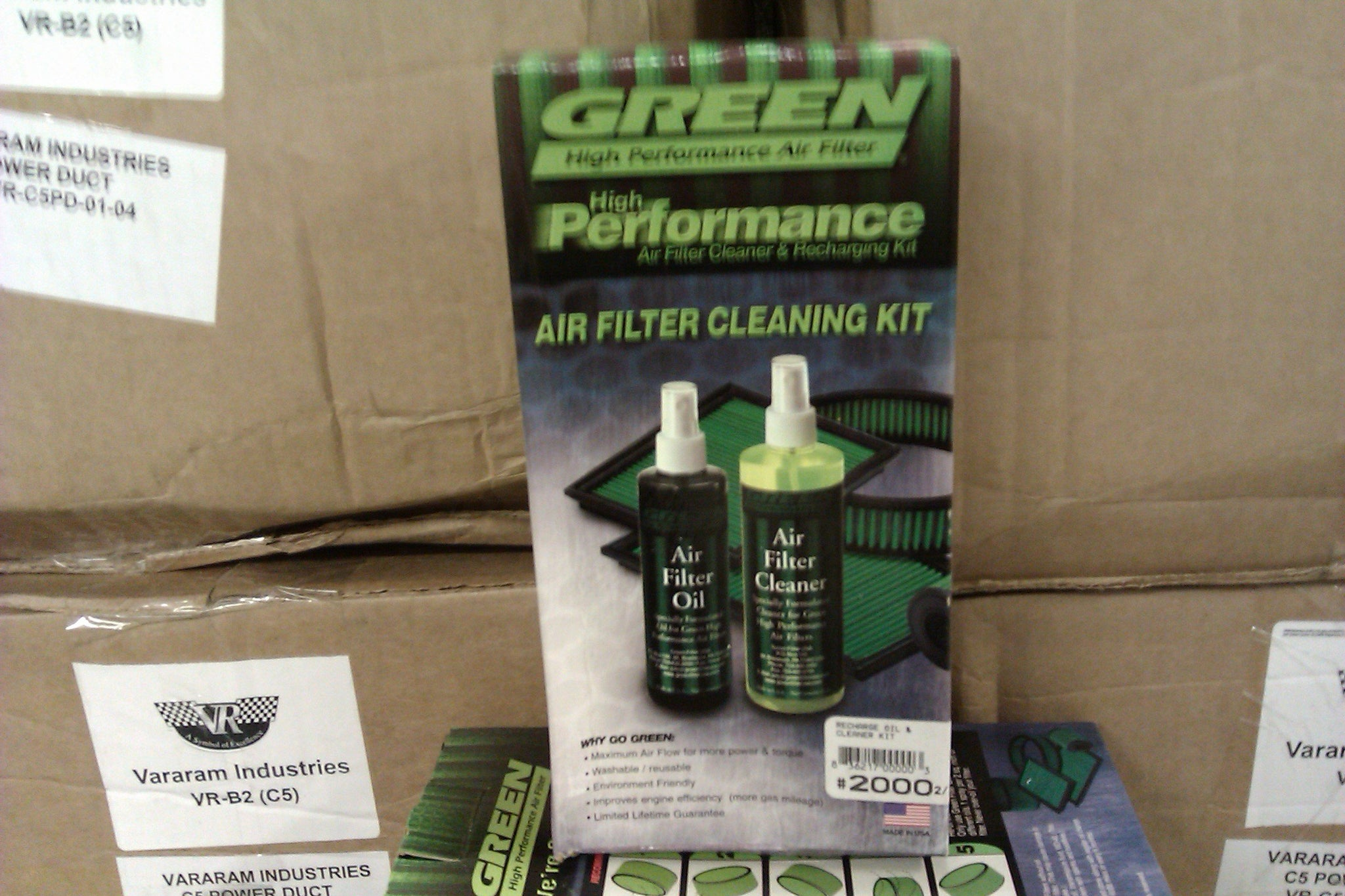 Green Filter recharge kit