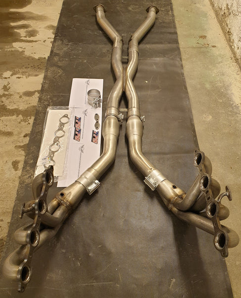 TPS RPM Corvette C5 longtube headers.