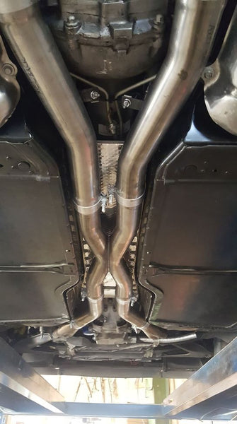 TPS RPM Corvette C6 2009-2013 longtube headers.