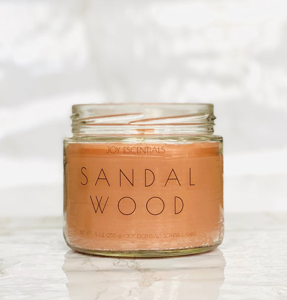 Sandalwood Wooden Wick Candle
