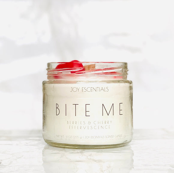 Bite Me Wooden Wick Candle