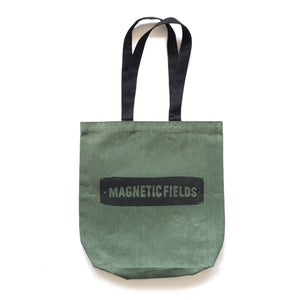 Waxed Canvas Crown Tote (Olive)