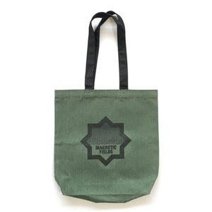 Waxed Canvas Compass Tote (Olive)